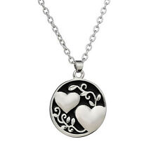 Newly Arrival  Sister Tree Two-sided Alloy Pendant Necklace Love Family Gift
