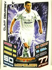 Match Attax 2012/13 Premier League - #305 Clint Dempsey - Tottenham Hotspur