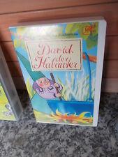 David, der Kabauter: Der Zaubertrunk der Zauberfrau, eine VHS Video Cassette