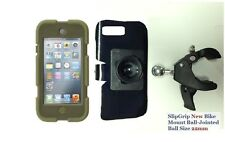 "SlipGrip 1.5"" Bike Mount For ipod Touch 5th gen Using Survivor Rugged Case"