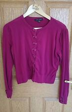 Laura Ashley Cardigan Hot Pink Size 16