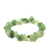 Quality Crystal Chip Elasticated Bracelets - All Types of Gems Stones & Colours