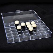 Plastic Finger Sponge Dauber storage Box capacity 40 Pcs ( without daubers)