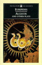 Alcestis: And Other Plays by Euripides (Paperback, 1996) Like new, free shipping