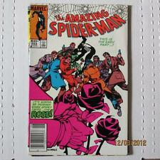 Amazing Spiderman 253 VF   1st Rose SKU16600 25% Off!