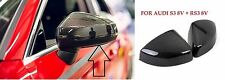NEW audi A3 8v 2013-2017 carbon fibre wing mirror covers left and right pair