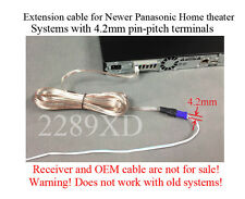 12ft speaker extension cable/wire/cord 4 Panasonic Home Theater;4.2mm-pitch;Read
