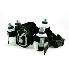 New Running Hydration Belt, 4 bottle, Storage Pockets, Unisex, 1 size fits All