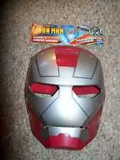 Hasbro Marvel Comics Iron Man the Armored Avenger Mark V Hero Mask Costume