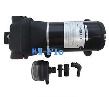 HSH-Flo Electric Diaphragm Water Pump 12 V DC 40 PSI 4.5 GPM High Pressure Water