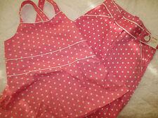 2PC NWTS Gymboree Outlet Spring Fun Pink Polka Dot Capri Pants & Top Girl sz 6
