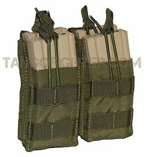 CONDOR MA43 MOLLE Double Stacker 5.56 mm Mag Pouch open top pull tab OD