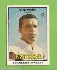 #D199. 1968 SERIES 2 SCANLENS RUGBY LEAGUE CARD #13  BOB MARA, PANTHERS