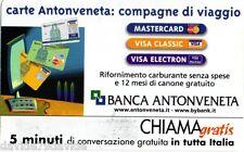CHIAMAGRATIS BANCA ANTONVENETA _ 31/05/2002 _ NUOVA