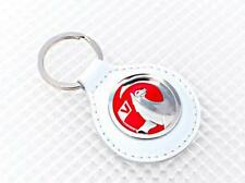 Vauxhall BIANCO PELLE PORTACHIAVI Official Licensed Product Richbrook CORSA ASTRA