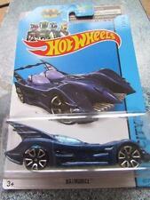 Hot Wheels 2014 #062/250 BATMOBILE bat car blue HW CITY BFC74 Long Card