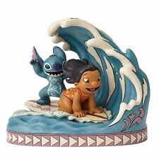 Jim Shore Disney Traditions Lilo and Stitch 15th Anniversary 4055407 NEW