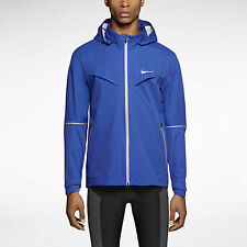 Nike Rain Runner Dri-Fit Running Jacket Cobalt Blue SZ L ( 616222-439 )