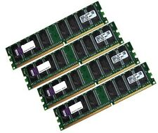4x KIT 1gb 4gb di RAM PC memoria DDR 400 MHz Intel AMD 64mx8 Low Density DIMM 64x8