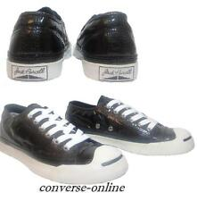 VERY RARE Women Boy CONVERSE All Star JACK PURCELL BLACK Trainers Shoe SIZE UK 5