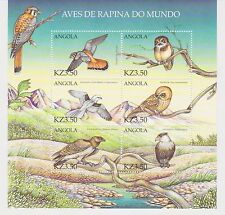 Angola - Birds, 2000 - Sc 1143 Sheetlet of 6 MNH