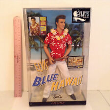 2010 BARBIE COLLECTOR - ELVIS IN BLUE HAWAII DOLL - NEW