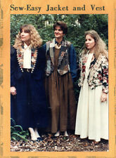"Kindred Spirits Sewing Pattern ""Sew-Easy Jacket and Vest"" in Sizes S - M - L"