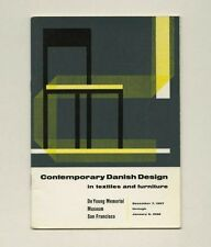 1957 Hans Wegner DANISH Textile + Furniture DESIGN Nanna & Jørgen Ditzel Exhibit