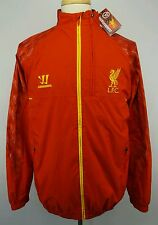 NEW Authentic Warrior2013-2014 Liverpool F.C Training WarmUp Jacket Size Adult L