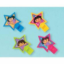 DORA THE EXPLORER Star Catcher WHISTLES (4) ~ Birthday Party Supplies Favors