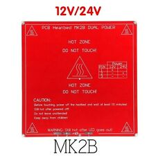 RepRap 3D Printer PCB Heatbed MK2B HeatBed Hot Plate For Prusa Mendel 12V/24V