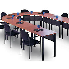 U SHAPED CONFERENCE ROOM TABLE Training Tables Set Office Meeting Optional Chair