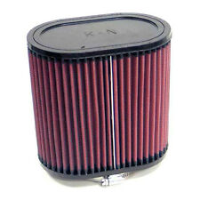 K&N Oval Straight Universal Air Filter 70mm Neck ID / Chrome End Cap - RC-2860