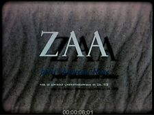 16mm Film: Zaa, petit chameau blanc 1960 Bellon COLOR/Sound 23m 44s VIDEO eval