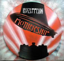 LED ZEPPELIN MOTHERSHIP design. Stencil artwork on vinyls. Made in Australia