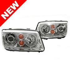99-05 VW JETTA BORA MK4 OEM HID REPLICA E-CODE PROJECTOR HEADLIGHTS - H7 HOUSING