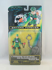 Batman Forever - The Riddler with Trapping Brain-Drain Helmet - Kenner 1995