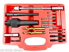 Glow Plug Removal Kit For Difficult Broken Damaged Glow Plugs Removal Remover