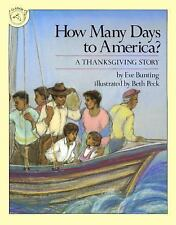How Many Days To America? (Turtleback School & Library Binding Edition), Bunting