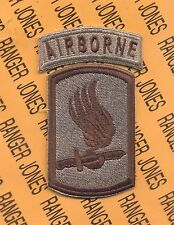 """173rd Airborne Brigade """"THE HERD"""" Infantry COMBAT SIDE Multi Cam patch"""