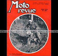 MOTO REVUE N°1253 ★ DKW 350 RT ★ GP GRAND PRIX DE L'ULSTER ★ ISDE 1955
