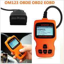 OM123 OBDII OBD2 EOBD Car Vehicle Code Reader Scanner Auto Diagnostic Scan Tool