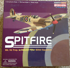 DRAGON WINGS 50129 Die-Cast Model SPITFIRE 1:72 Scale Ready Made 601st Squadron