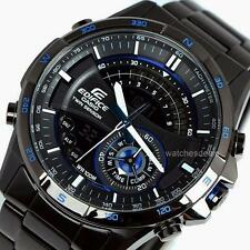 CASIO EDIFICE, ERA200DC ERA-200DC-1A2V, SENSORS, Super Illuminator, BLACK x BLUE