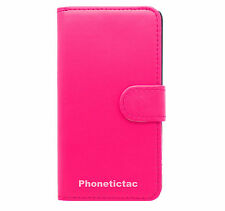 Book Wallet Flip Leather Case Card Cover For Various Vodafone Mobile Phones