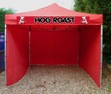 Heavy Duty Hog Roast Gazebo Pop Up Market Stall Catering Trailer Event Tent Bar
