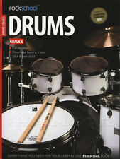 Rockschool Drums Grade 5 2012-2018 Exam Sheet Music Book with Online Audio