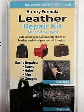 Liquid Leather Vinyl Repair Kit No Heat Tool Sofa Car Seat Coat Boat Jacket Fix