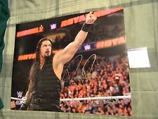 """Roman Reigns WWE Signed 16"""" x 20"""" Photo (PSA/DNA AA57861, Believe That!!, WWF)"""