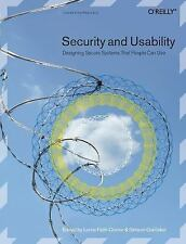 Security and Usability: Designing Secure Systems that People Can Use-ExLibrary